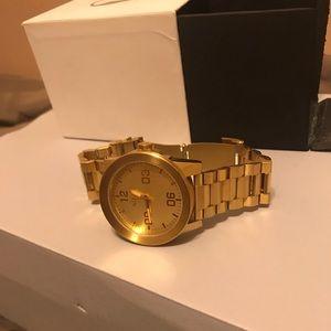 Nikon gold watch